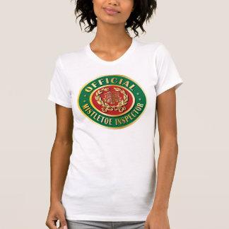 Official Mistletoe Inspector T Shirt