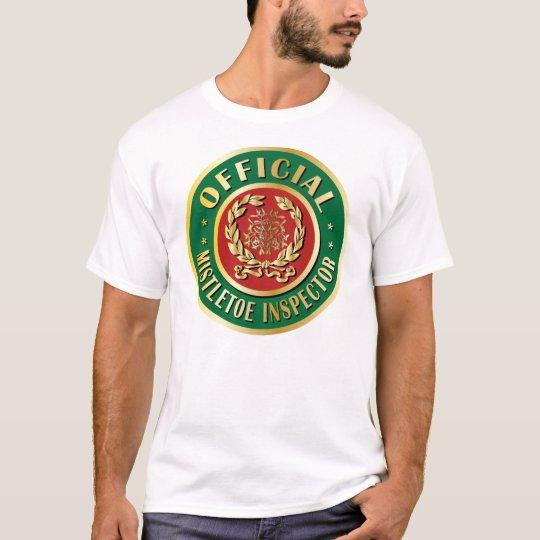 Official Mistletoe Inspector T-Shirt