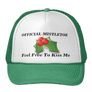 Official Mistletoe Trucker Hat