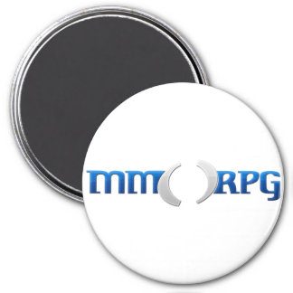 Official MMOPRG.com Gear 3 Inch Round Magnet