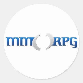 Official MMOPRG.com Gear Classic Round Sticker