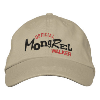 Official MONGREL Walker Embroidery Hat Embroidered Hat