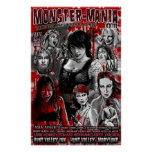 Official Monster-Mania 23 Horror Convention Poster