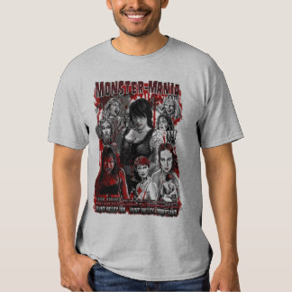 Official Monster-Mania 23 Horror Convention T Shirt