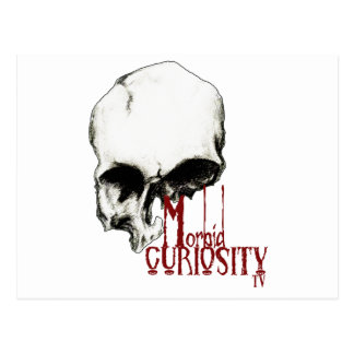 Official Morbid Curiosity TV Products Postcard