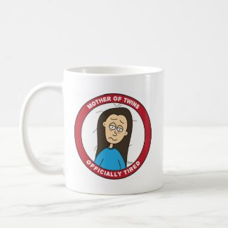 Official Mother Of Twins Mug