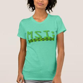 Official MSI: Logo Girly Tee
