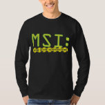 Official MSI: Logo Long Sleeve Tee Shirt