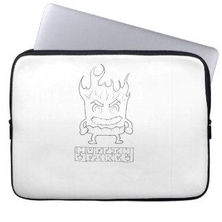 Official Muffin Fire Logo Laptop Sleeve