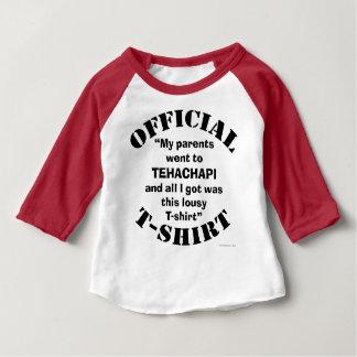"OFFICIAL ""My Parents Went to Tehachapi..."" T-SHIRT"