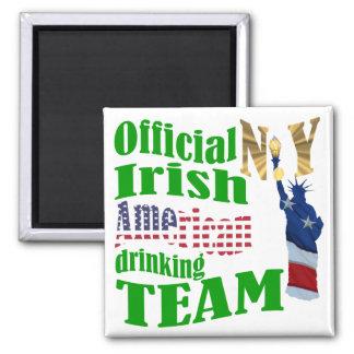 Official N.Y. Irish American drinking team Magnet