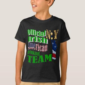 Official N.Y. Irish American drinking team T-Shirt