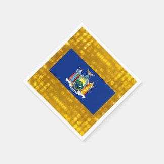 Official New Yorker Flag Standard Cocktail Napkin