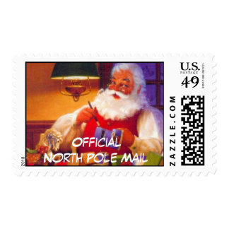 Official North Pole Santa Postage