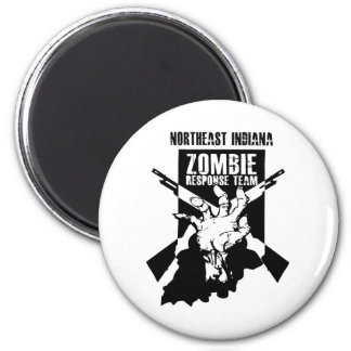 Official Northeast Indiana Zombie Response Team Magnet