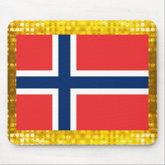 Official Norwegian Flag Mouse Pad