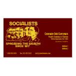 Official Obammunist Part Commissar Card Business Card Templates