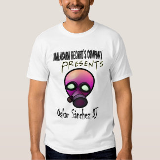 Official of Oskar Sanchez DJ T Shirt