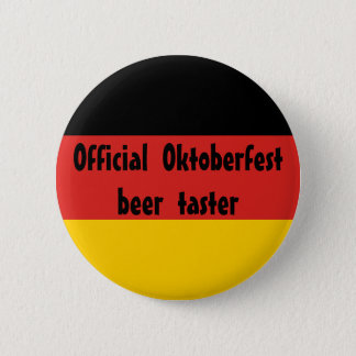 Official Oktoberfest Beer Taster Button