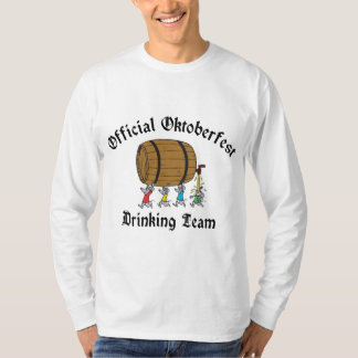 Official Oktoberfest Drinking Team T Shirt