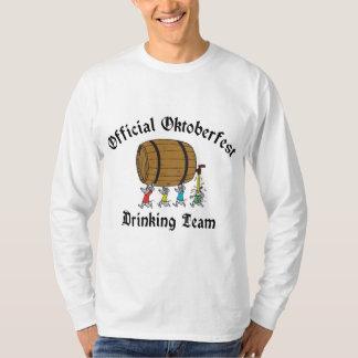 Official Oktoberfest Drinking Team T Shirt