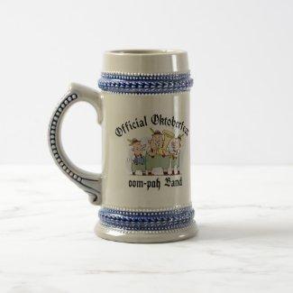 Official Oktoberfest Oom Pah Band Gift mug