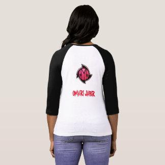 Official OMVRI Brand Women's Two Tone T-Shirt
