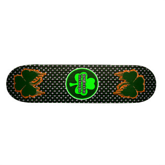 Official Paddy Rock Radio Skateboard - Customized