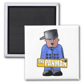 Official Panman Fridge Magnet