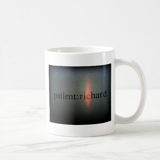 Official Patient: Richard merch Classic White Coffee Mug