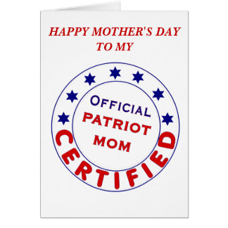 OFFICIAL PATRIOT MOM!