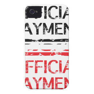 Official Payment Grunge Stamp Case-Mate iPhone 4 Case