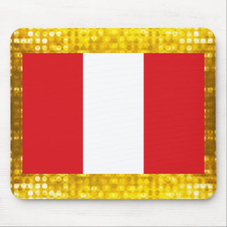 Official Peruvian Flag Mouse Pad
