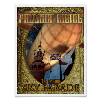 Official Phoenix Rising 2016 Sky Parade Poster
