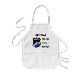 Official Police Family Aprons