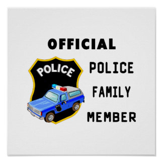 Official Police Family Poster
