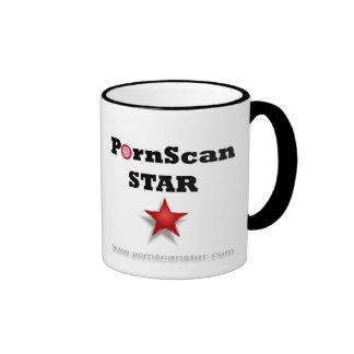 Official PornScan Star Mug