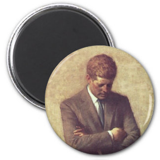 Official Portrait John F. Kennedy Fridge Magnet
