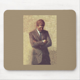 Official Portrait John F. Kennedy Mouse Pad