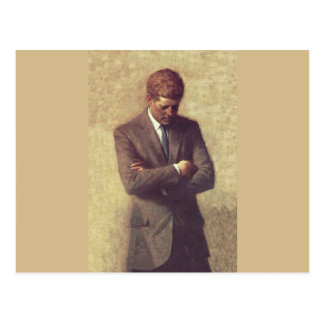 Official Portrait John F. Kennedy Postcard