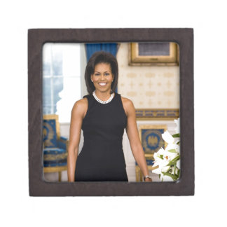 Official Portrait of First Lady Michelle Obama Gift Box