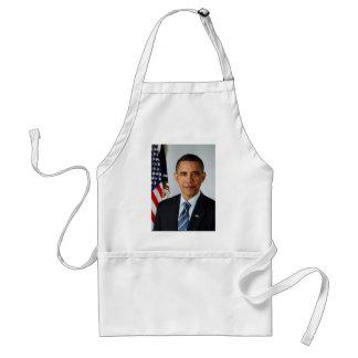 Official Portrait of president Barack Obama Apron