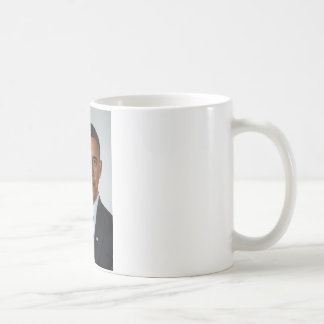 Official Portrait of president Barack Obama Coffee Mug