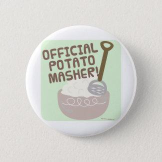 Official Potato Masher Button