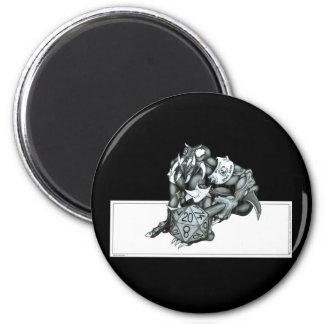 Official Powergamer (d20) Fridge Magnet