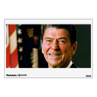 Official Presidential Portrait of Ronald Reagan Wall Decal