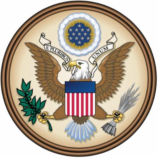 Official Presidential Seal Photo Cutout