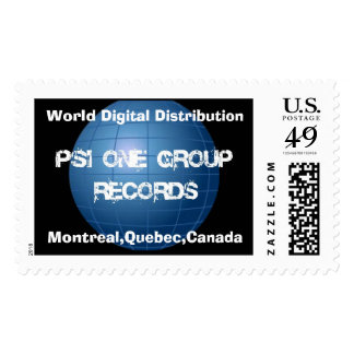 Official PSI One Group Records US Postage