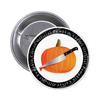 Official Pumpkin Carver 2 Inch Round Button
