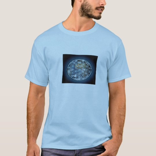 Official 'Pure Positive' Gear - Earth and Flower T-Shirt